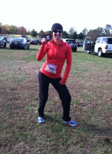 My wife Amy's FIRST 10 miler!!  Perfect 10 Miler